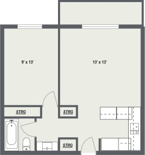 Junior 1 Bedroom
